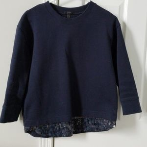 J Crew XS sequin sweater